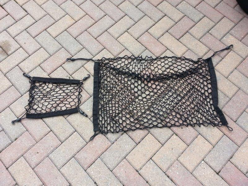 Nissan altima/maxima 2 Trunk Cargo Nets/stuff holders