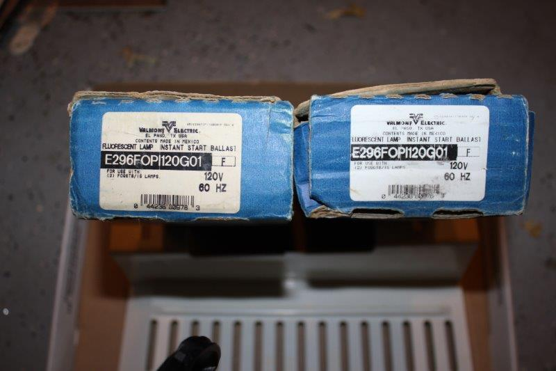 2 x Valmont Electric E296FOPI120G01 Ultra Mizer Electronic Ballasts