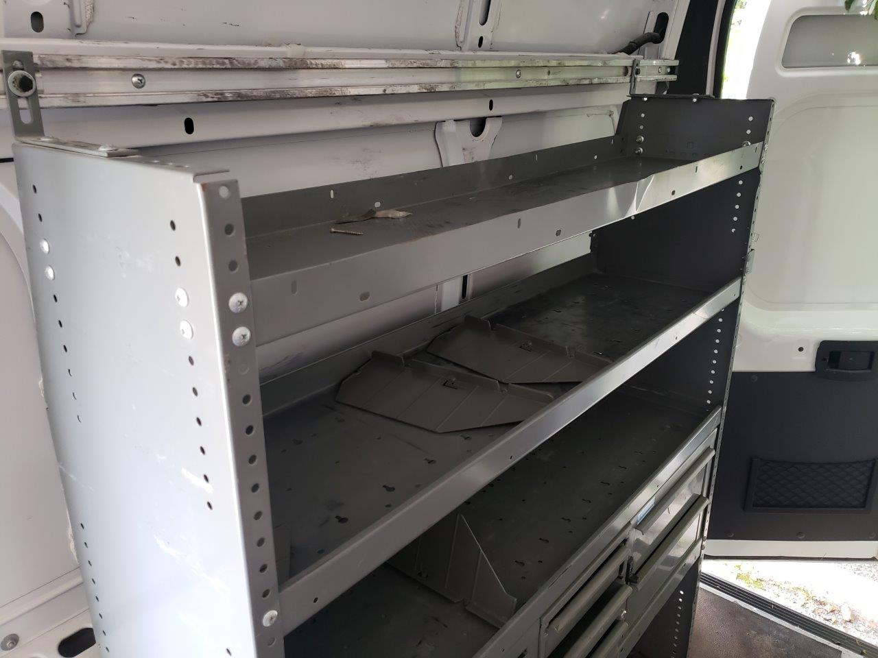 Set of Cabinets and Divider for Dodge RAM Promaster 2500