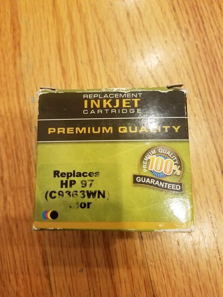 HP 97 Ink Cartridge Tri-color C9363WN compatible toner