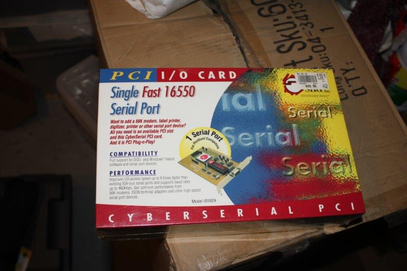 SIIG Cyberserial PCI Single Fast 16550 Serial Port I/O Card