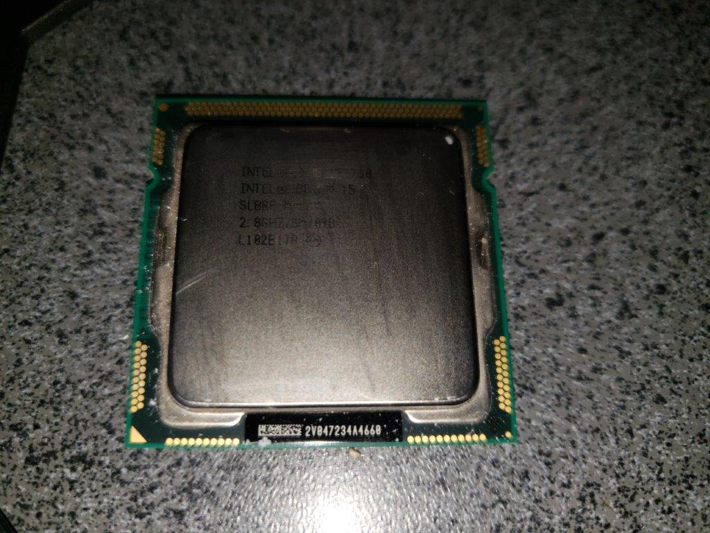 Intel Core i5-760 2.8GHz Quad-Core Processor with Fan and Mounting