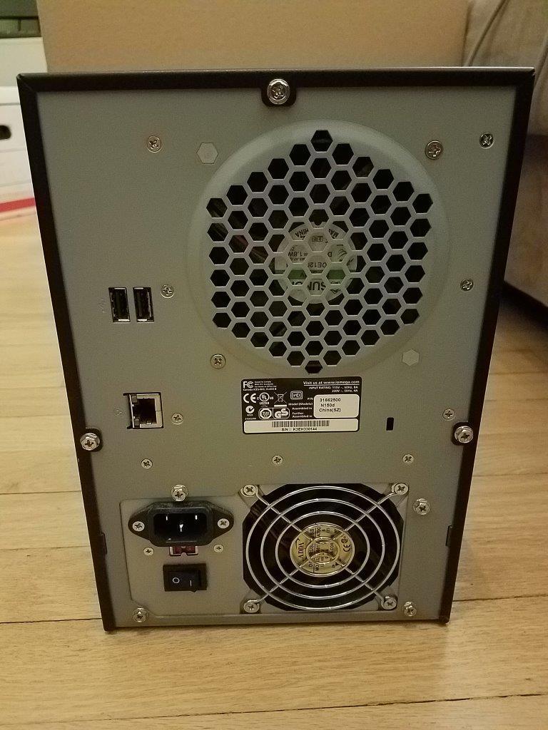 NAS Iomega StorCenter Pro 150d network attached storage