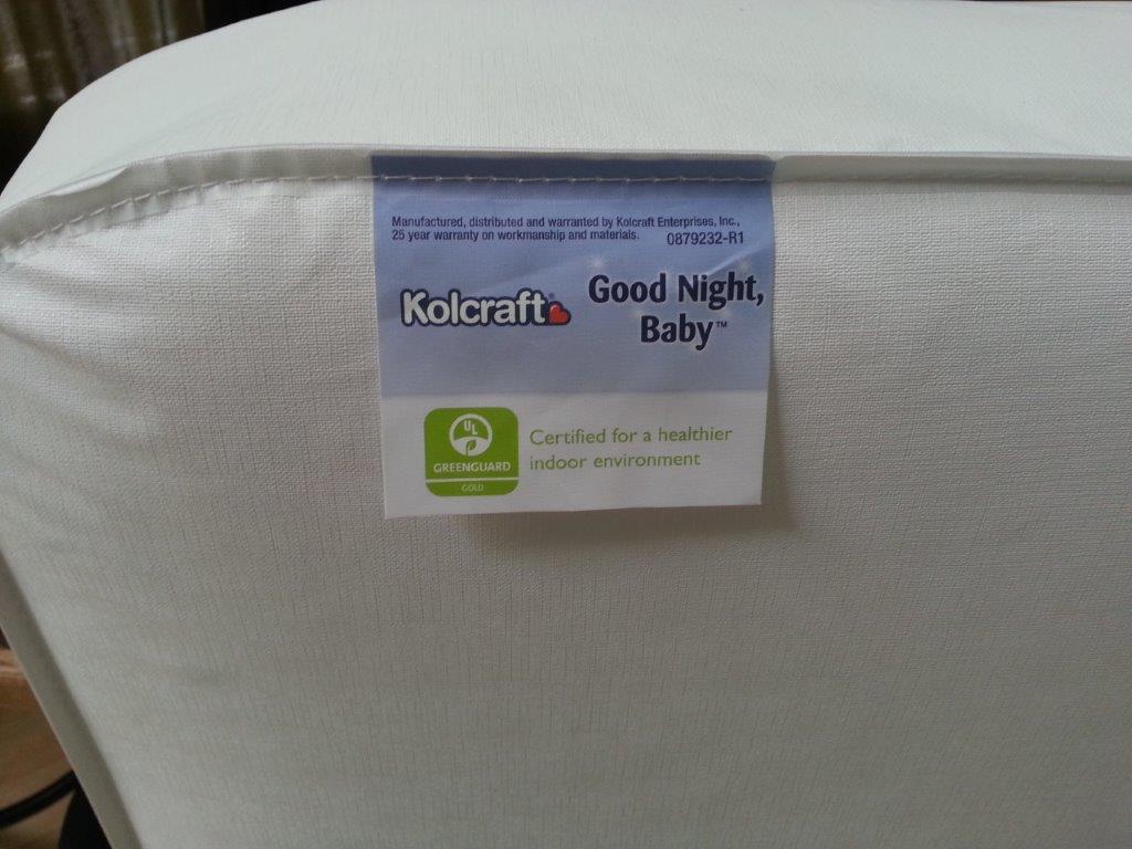 Children mattress KM220-WHLP by Kolcraft kids
