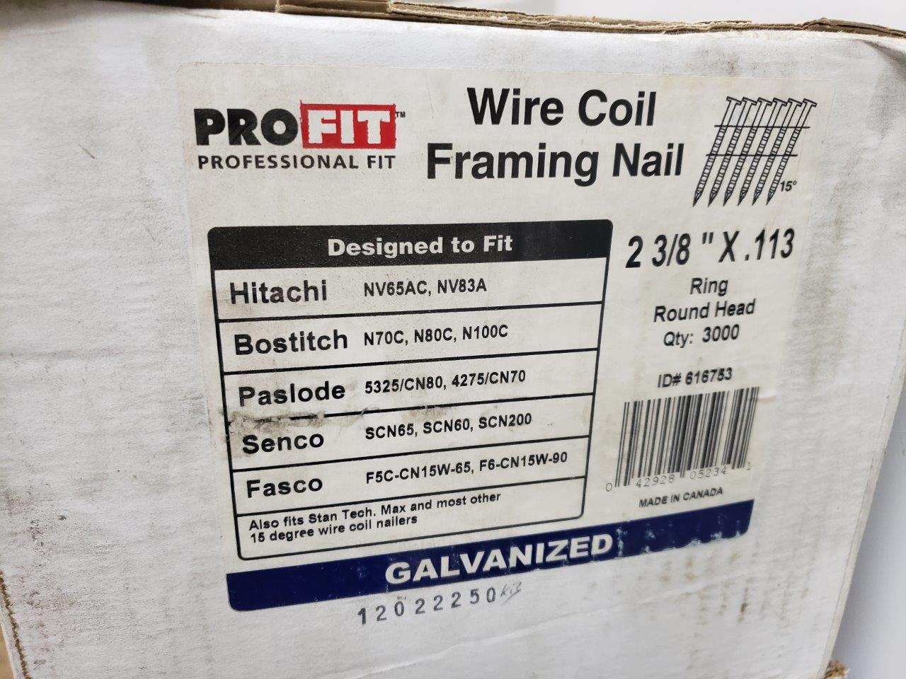 Wire Coil Framing Nails