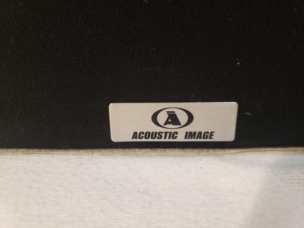 Acoustic Image Bi-amp Floorstanding Bookshelf HIFI Speakers GT 338 Pure Titanium