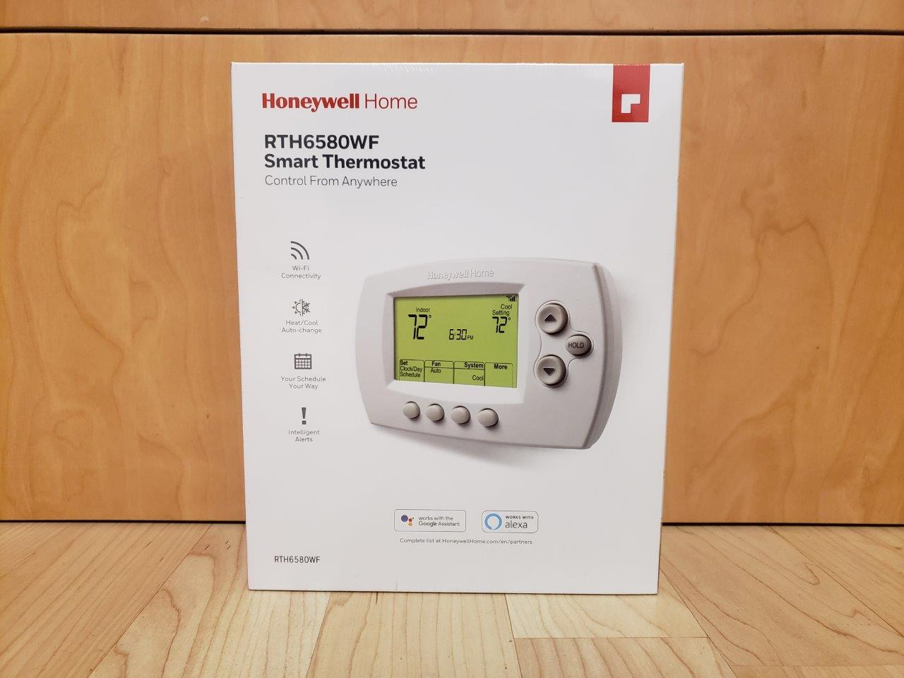 Honeywell Smart Thermostat Model RTH6580WF WIFI Smart Home, New Factory Sealed